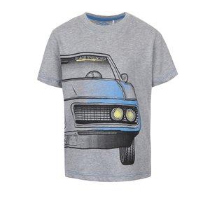 Tricou gri 5.10.15. din bumbac cu print pentru băieți
