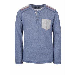 Bluză albastru melanj 5.10.15. din bumbac