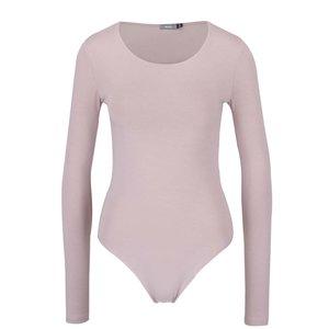 Body roz deschis cu mâneci lungi ZOOT