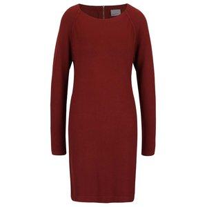 Vero Moda, Rochie roșu cărămiziu Vero Moda Glory din jerseu