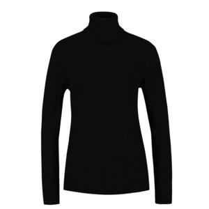 Pulover negru ONLY Mila cu guler înalt