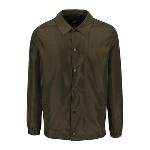 Jachetă kaki ONLY & SONS Coach cu nasturi