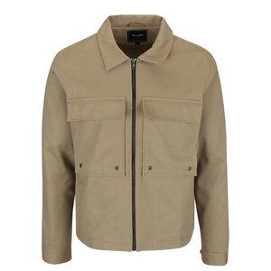 Jachetă bej ONLY & SONS Becks