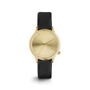 Ceas negru cu auriu Komono Estelle Classic
