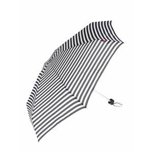 s.Oliver, Umbrelă alb & negru s.Oliver cu model în dungi