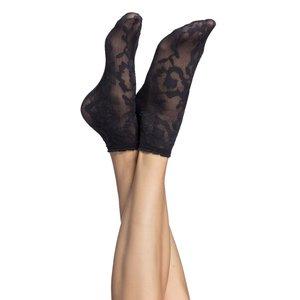 Șosete subțiri Oroblu Lorelie negre