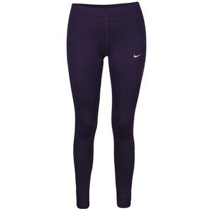 Colanți violet Nike Power Flash Essential cu print cu logo