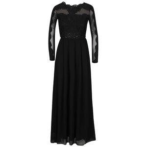 Rochie neagră AX Paris cu dantelă