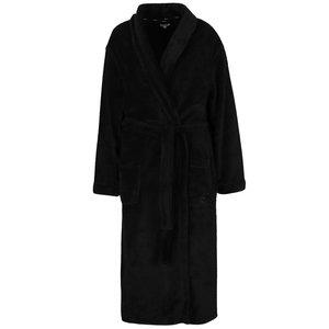 Halat negru lung DKNY