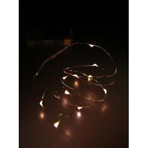 Instalație cu lumini galbene decoLED în formă de picături la pretul de 38.99