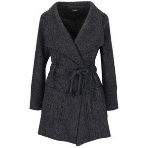 Palton gri închis ZOOT Simple cu model discret