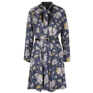 Rochie albastră cu model floral Closet