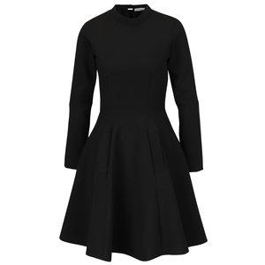 Rochie neagră cu guler înalt Closet