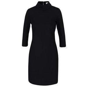 Rochie neagră cu mâneci trei sferturi Closet
