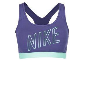 Bustieră violet Nike Pro Classic Padded Logo cu print cu logo la pretul de 144.99