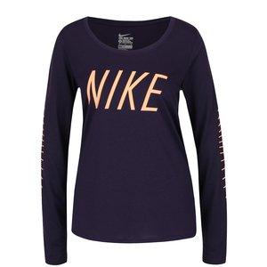 Bluză sport violet Nike Dry Training cu print cu logo la pretul de 129.99