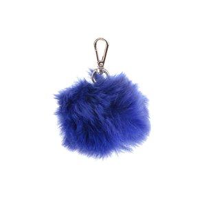 Paul's Boutique, Breloc albastru cu blană sintetică Paul's Boutique Pom Pom