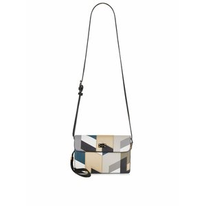 Paul's Boutique, Geantă crossbody multicoloră cu model geometric Paul's Boutique Veronica
