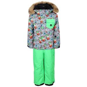 Quiksilver, Costum pentru ski verde Quiksilver