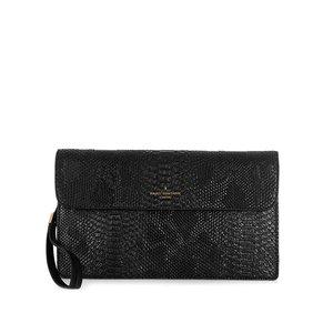 Geantă plic neagră cu model șarpe Paul's Boutique Veronica la pretul de 389.99
