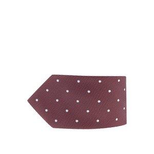 Cravată roșie cu buline Burton Menswear London