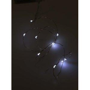 Lanț de luminițe în formă de picături pe baterii DecoLED