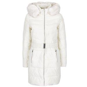 Jachetă Parka crem cu blană sintetică Dorothy Perkins la pretul de 319.99