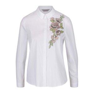 Dorothy Perkins Petite, Cămașă albă Dorothy Perkins Petite cu model floral