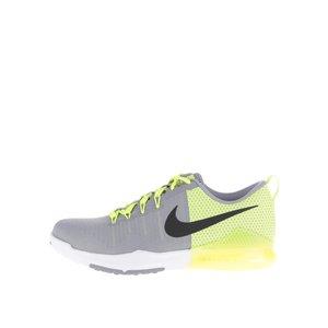 Pantofi sport Nike Train Action gri cu galben la pretul de 379.99