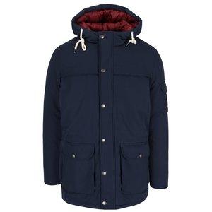 Jachetă parka albastru închis Jack & Jones New Jimmy cu glugă detașabilă la pretul de 449.99