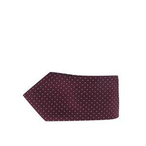 Jack & Jones, Cravată roșu Bordeaux din mătase Jack & Jones