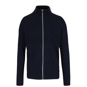 Bluză bleumarin Jack & Jones Arto din bumbac cu guler înalt la pretul de 179.99