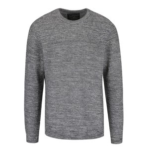 Pulover gri deschis Jack & Jones Seattle cu model discret la pretul de 179.99