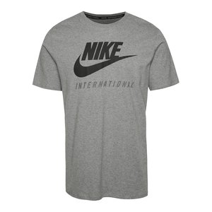 Tricou Nike International gri