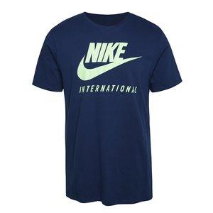 Tricou Nike International albastru închis la pretul de 129.99