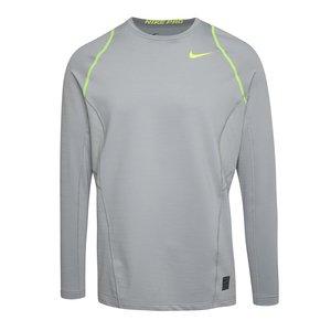 Bluză Nike Pro Hyperwarm gri la pretul de 254.99