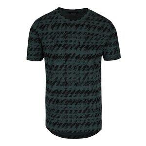 Tricou verde ONLY & SONS Azig din bumbac cu imprimeu