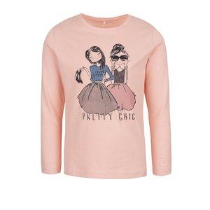 Bluză croz pal name it Kalise cu print pentru fete la pretul de 59.99