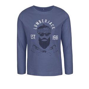 Bluză albastru închis name it Victor cu print pentru băieți la pretul de 38.99
