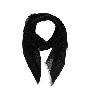 Fular negru de damă Pietro Filipi din lână la pretul de 319.99