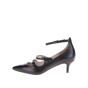ALDO, Pantofi negri ALDO Altafesta din piele cu barete subțiri