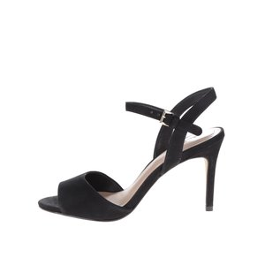 Sandale negre ALDO Volongo din piele întoarsă