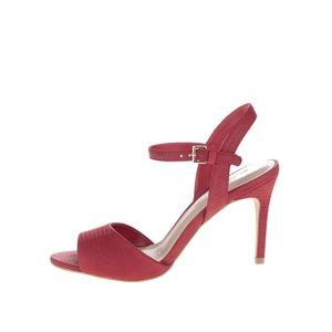 Sandale roșii ALDO Volongo din piele la pretul de 379.99