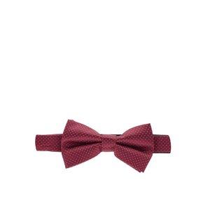 Papion roșu burgundy Burton Menswear London cu model discret la pretul de 56.99