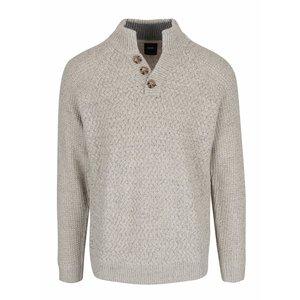 Pulover gri & crem Burton Menswear London cu model discret la pretul de 179.99