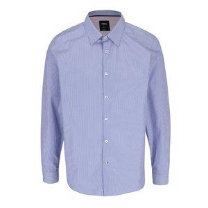 Cămașă crem & albastru Burton Menswear London cu model în dungi la pretul de 144.99
