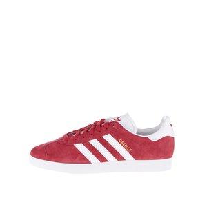 Pantofi sport roșii adidas Originals Gazelle