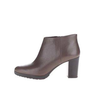 Pantofi maro Geox Raphal Mid din piele
