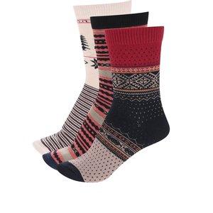 Set de 3 perechi de șosete multicolore ONLY & SONS Cento