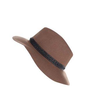Pălărie maro din lână Miss Selfridge la pretul de 129.99
